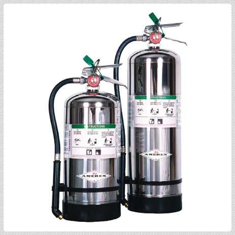 Extintor de acetato de potasio